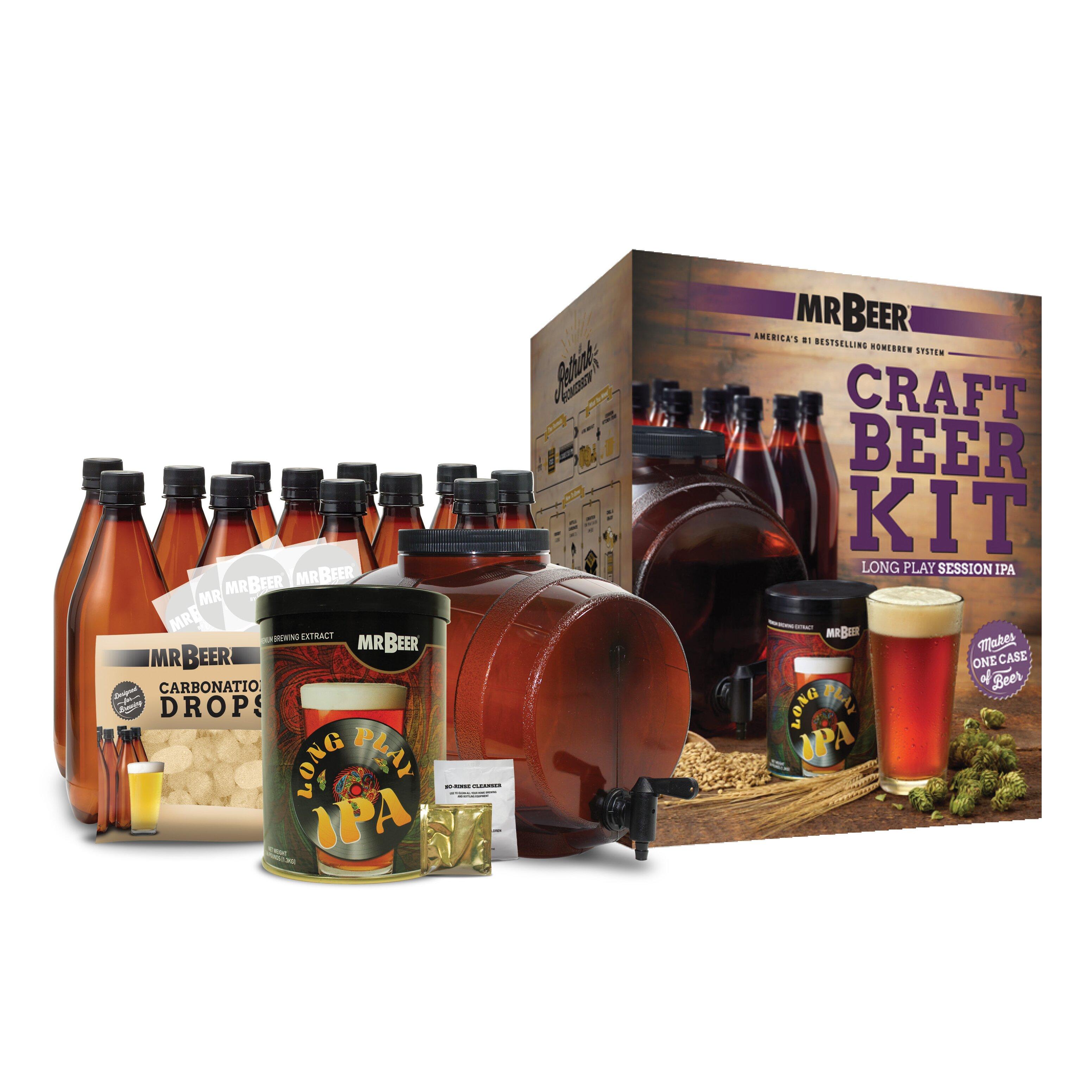 mr beer mr beer long play ipa complete craft beer making On craft beer making kit