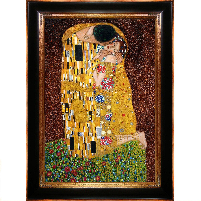 Tori Home The Kiss by Gustav Klimt Framed Original ...