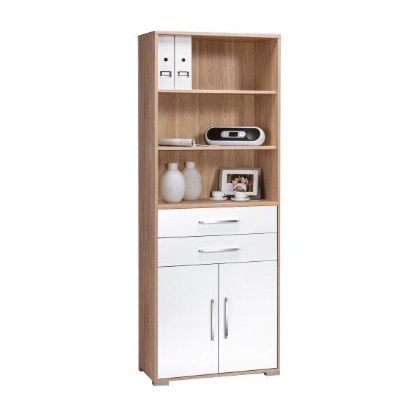 maja m bel 214 cm aufbewahrungsschrank mit 2 t ren bewertungen. Black Bedroom Furniture Sets. Home Design Ideas