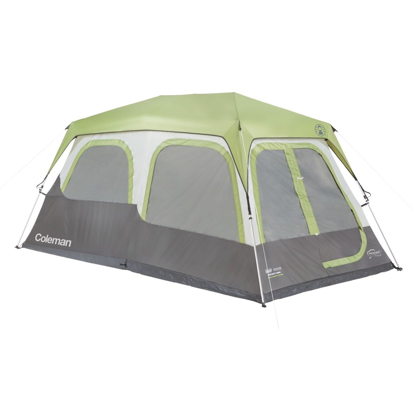 Coleman Instant Cabin 8 Person Tent with Fly Signature ...