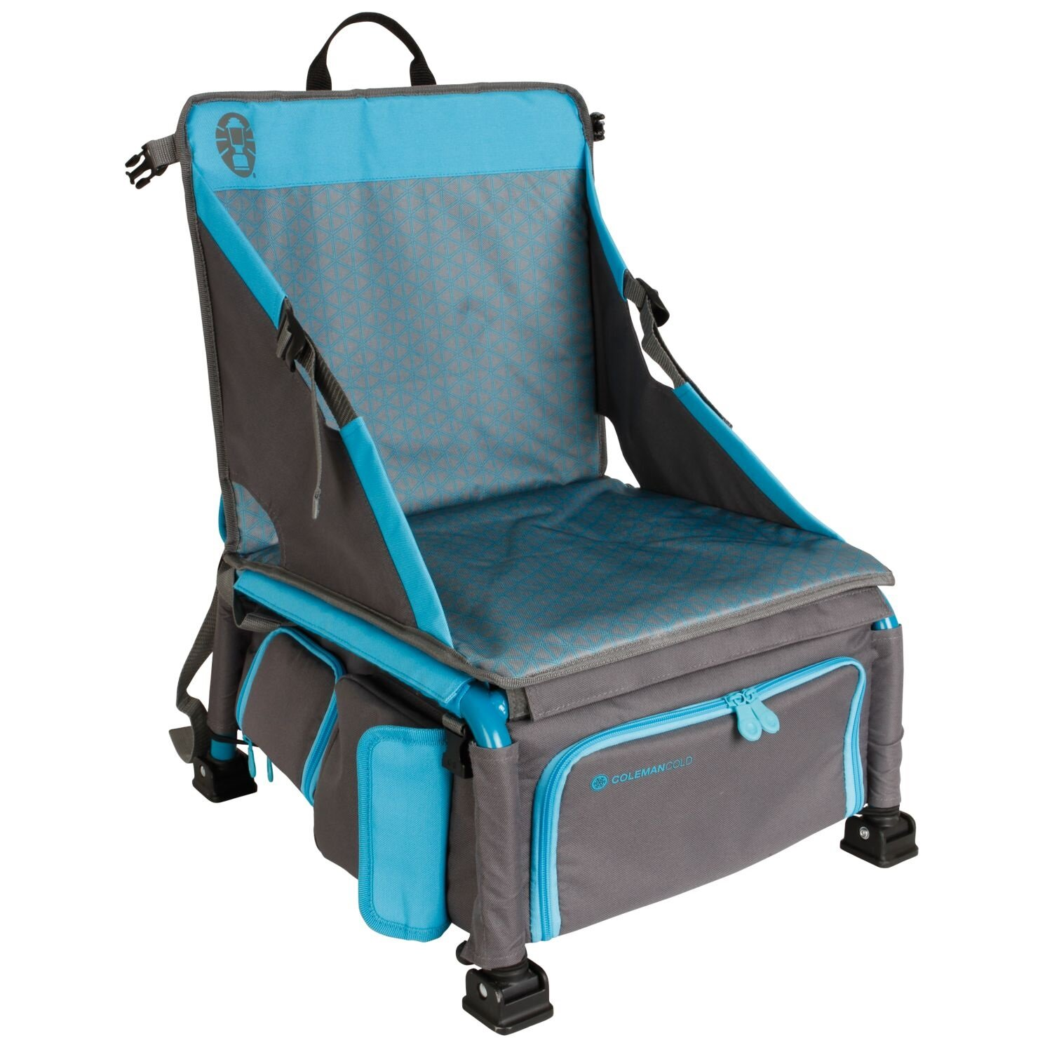 Great 30  Beach Chair with Cooler