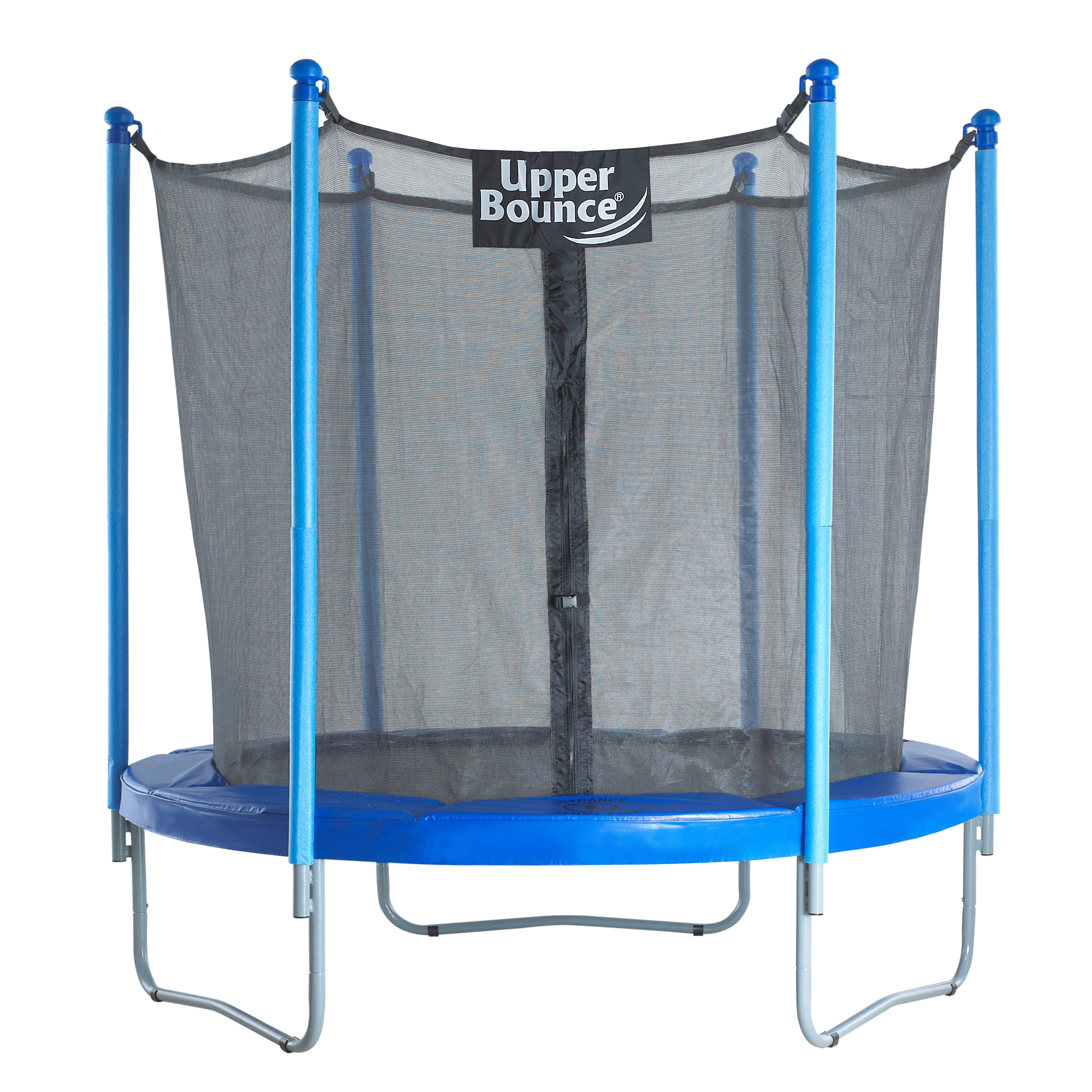 Trampoline Parts Walmart: Upper Bounce 7.5' Trampoline With Enclosure & Reviews