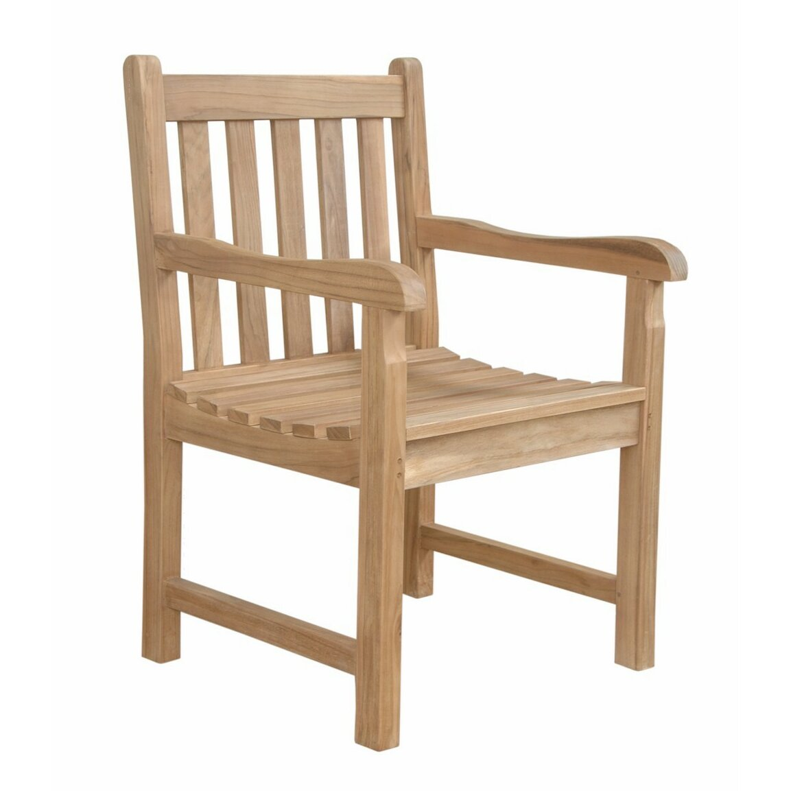 anderson teak braxton dining arm chair wayfair. Black Bedroom Furniture Sets. Home Design Ideas