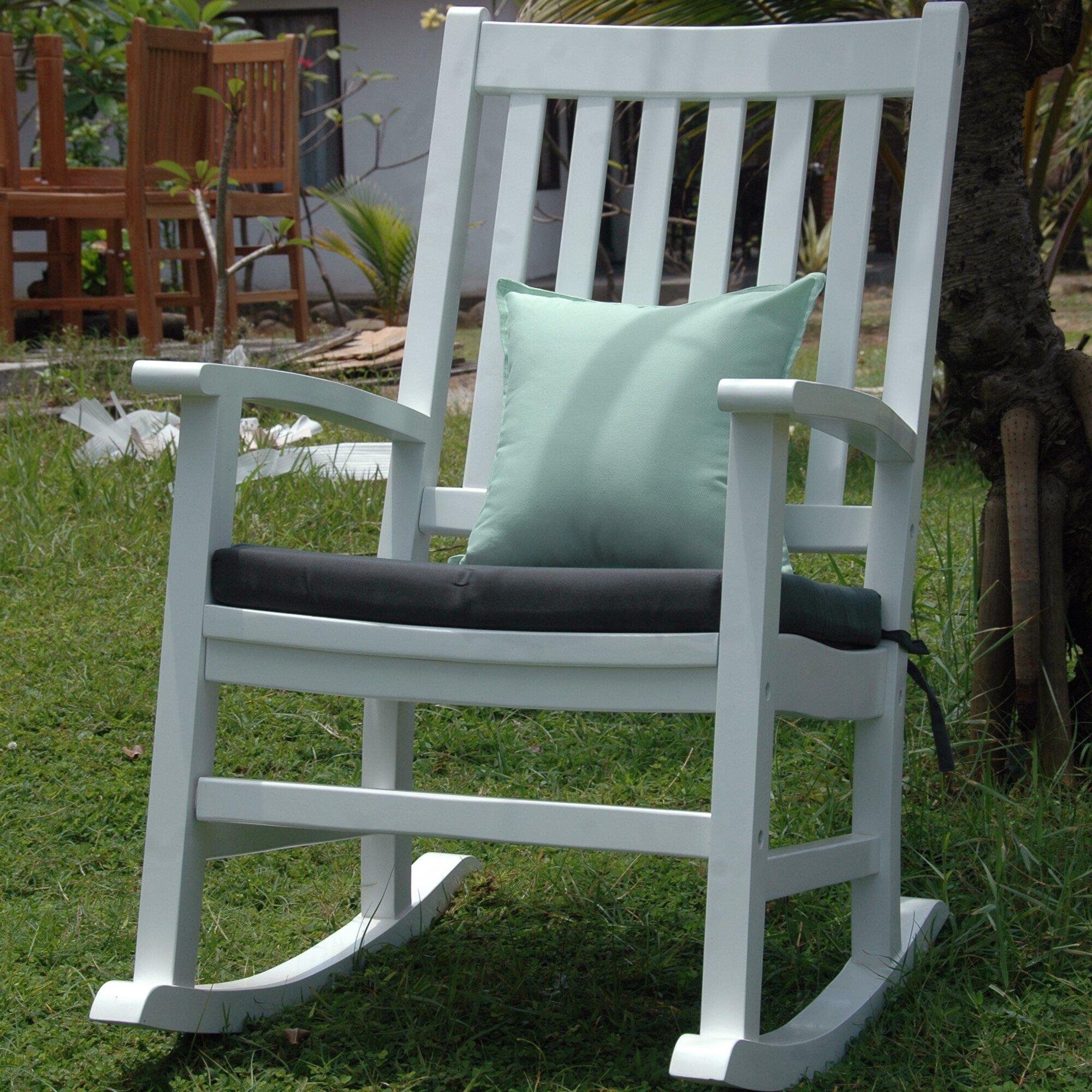 Anderson Teak Barcelona Rocking Arm Chair  Wayfair
