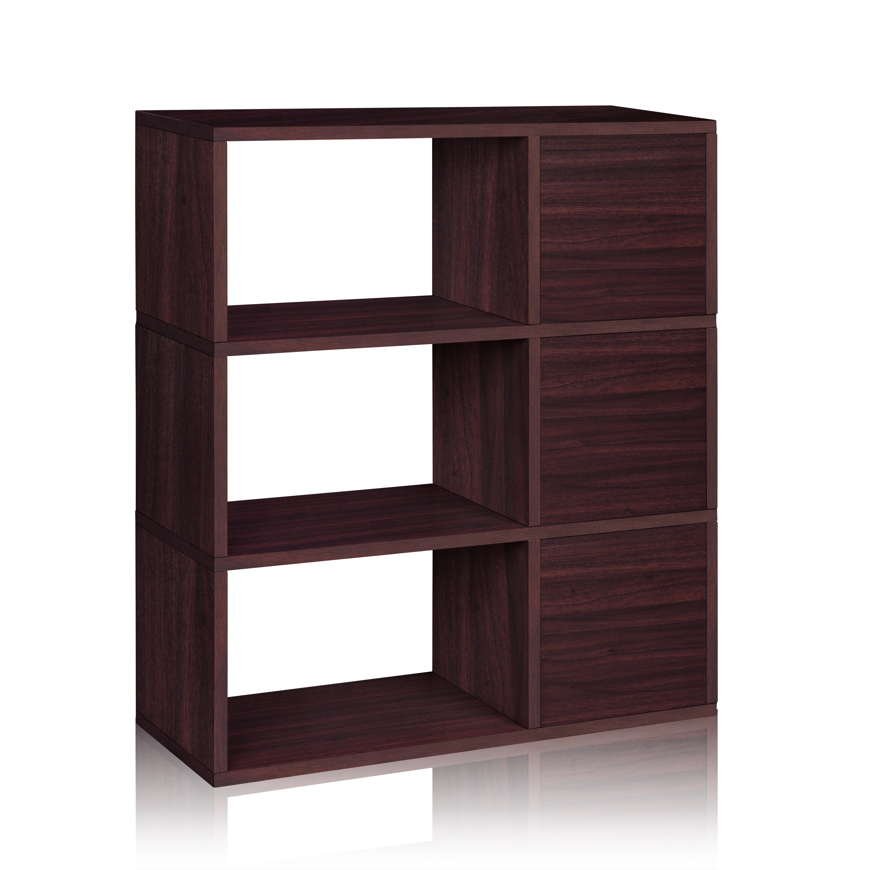 Wonderful image of  zBoard Storage Sutton 37 Cube Unit Bookcase & Reviews Wayfair.ca with #341F22 color and 3600x3600 pixels