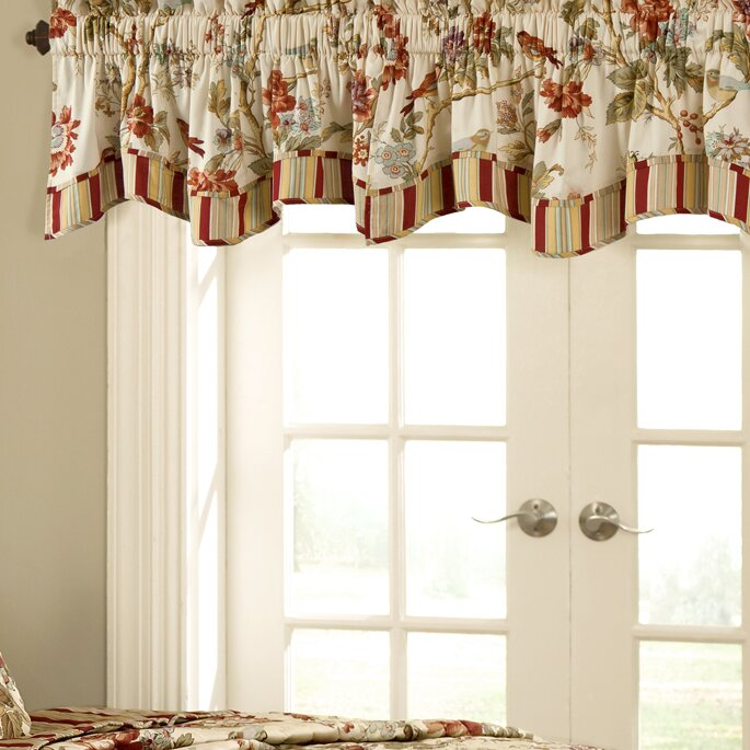 Waverly Charleston Chirp 50 Quot Curtain Valance Amp Reviews