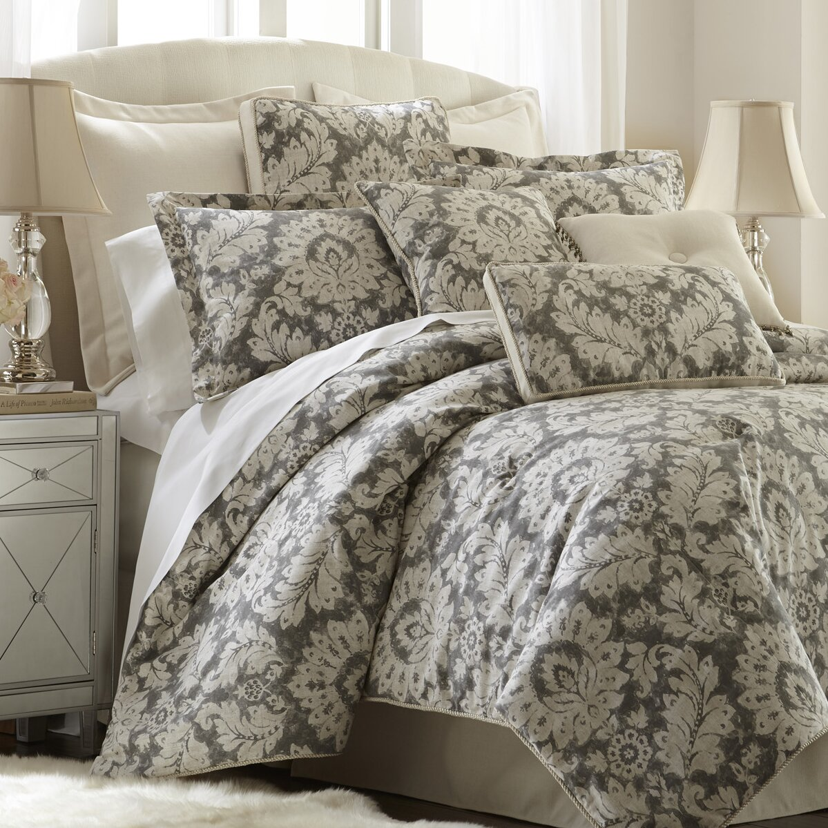 Sherry kline brooklyn 4 piece comforter set wayfair for Brooklyn bedding sale