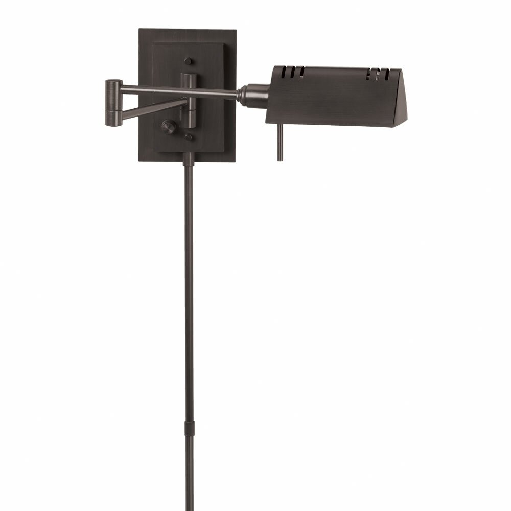 Adjustable Wall Lamp Bedroom : Dainolite Adjustable Swing Arm Wall Lamp & Reviews Wayfair
