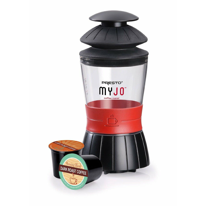 Video Game Bedroom Decor Presto Myjo Single Cup Coffee Maker Wayfair