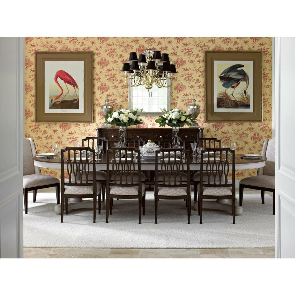 Stanley Dining Room Furniture: Stanley Charleston Regency Oyster Point Double Pedestal