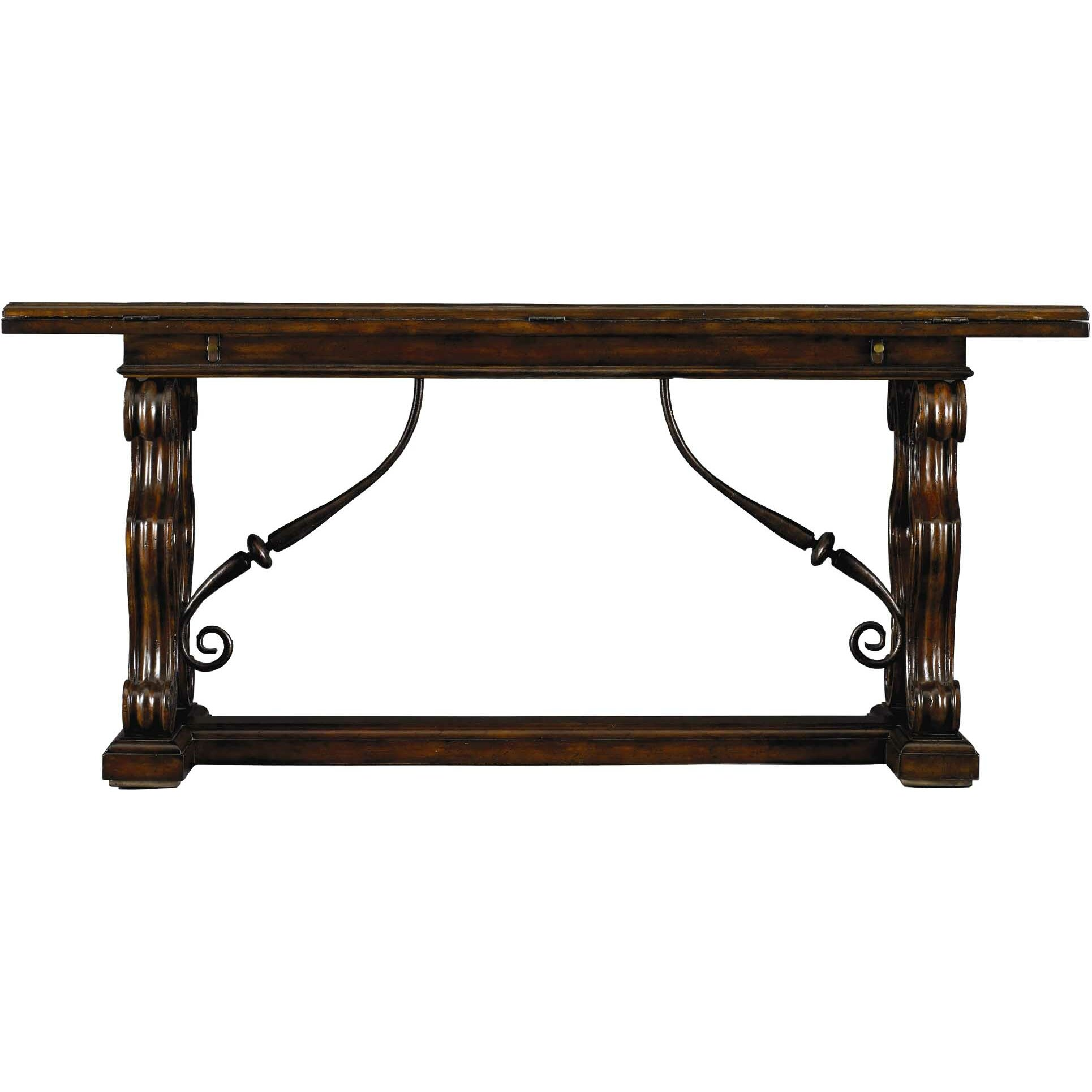 Stanley costa del sol charneira family console table for Console furniture