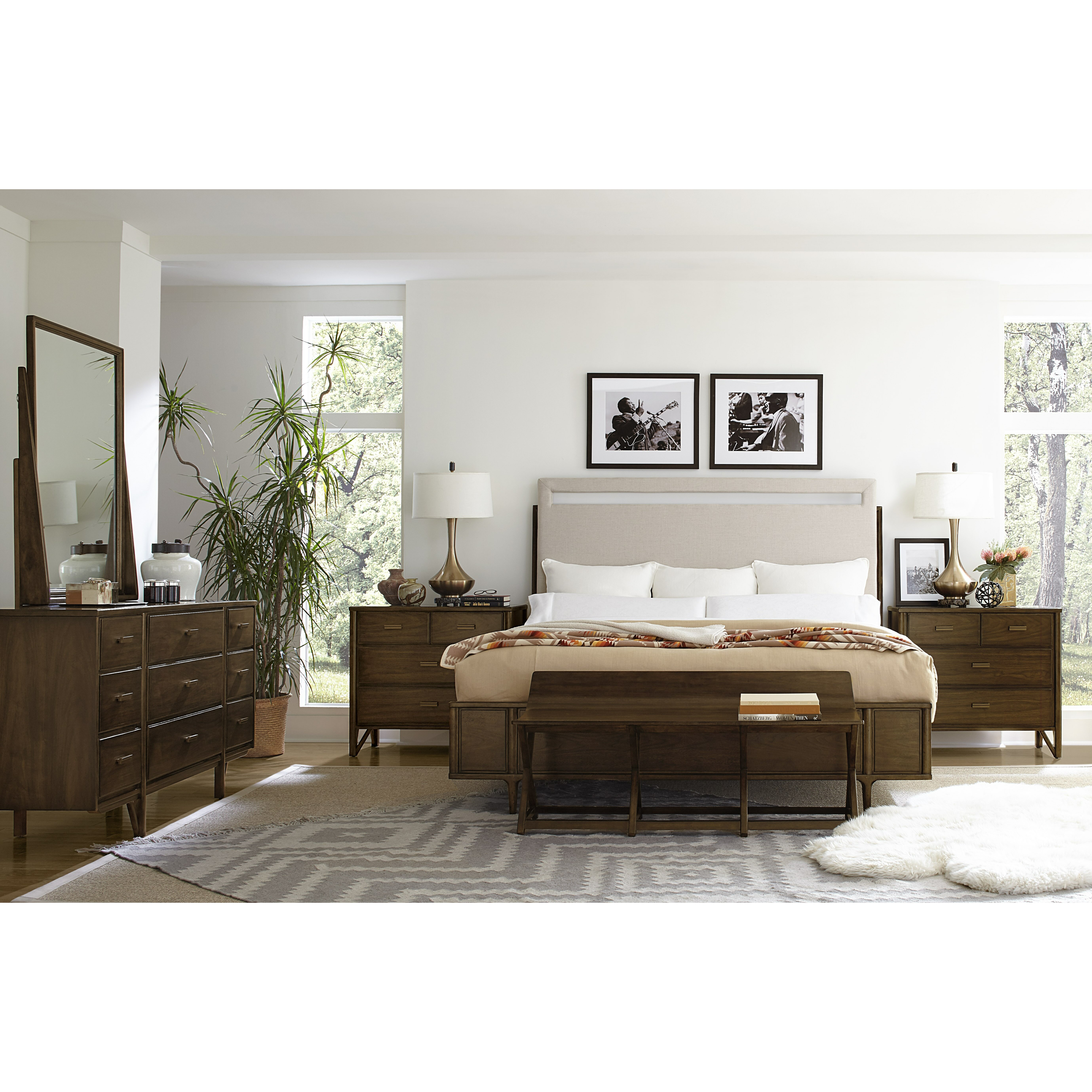 stanley santa clara platform customizable bedroom set wayfair