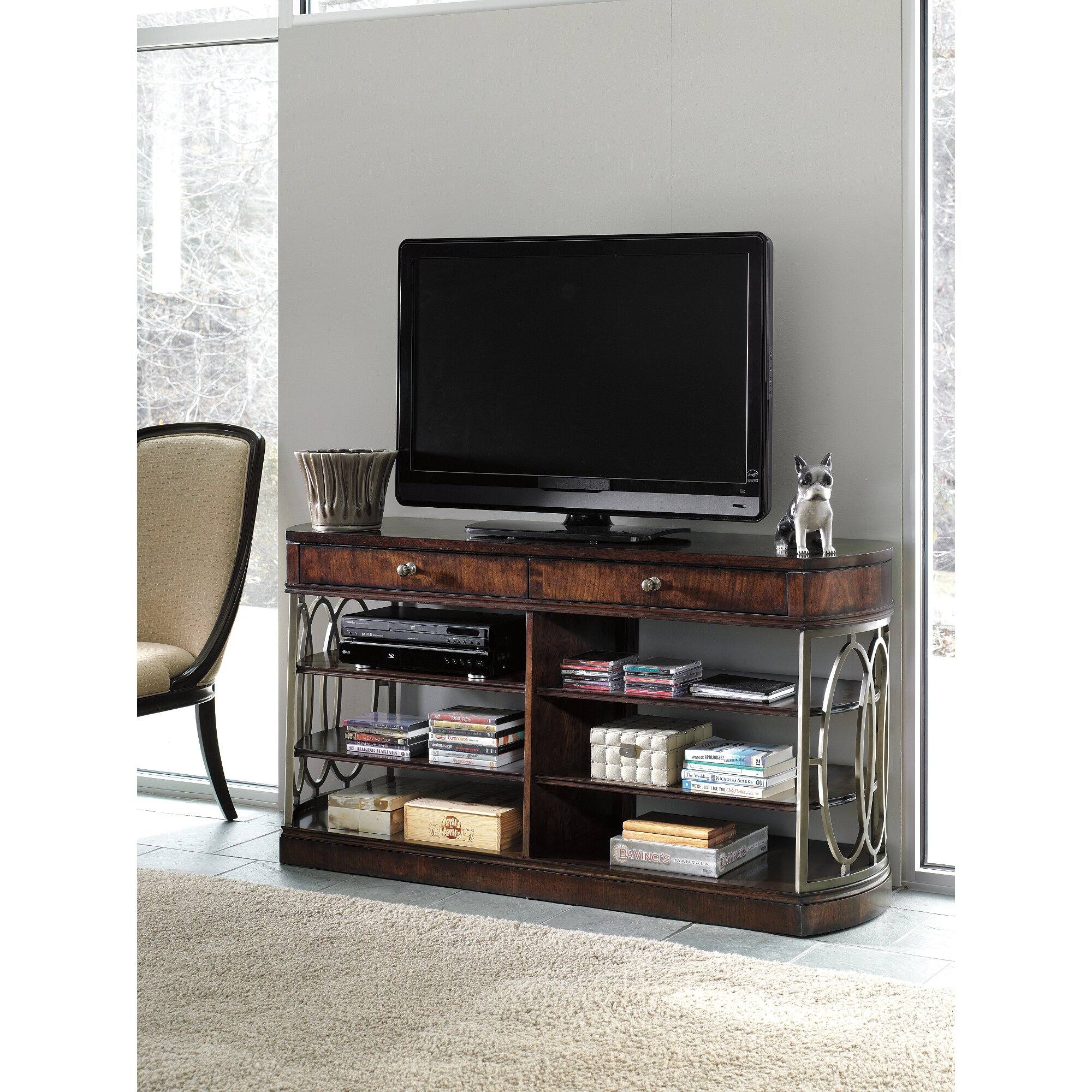 Stanley Dining Room Table Stanley Avalon Heights Tv Stand Amp Reviews Wayfair