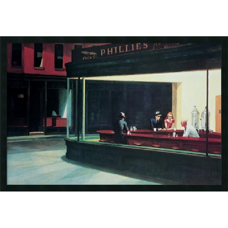 edward hopper's nighthawks Analysis of edward hopper's painting 'nighthawks' 1225 words | 5 pages nighthawks as a social tool in spite of its apparent simplicity, edward hopper's painting nighthawks puts across a series of complex concepts that people are likely to observe consequent to being properly educated regarding the work.