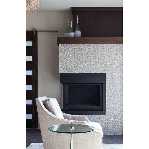 Emser tile lucente 0 6 x0 6 12 x 12 glass stone blend for Mosaic bathroom bin