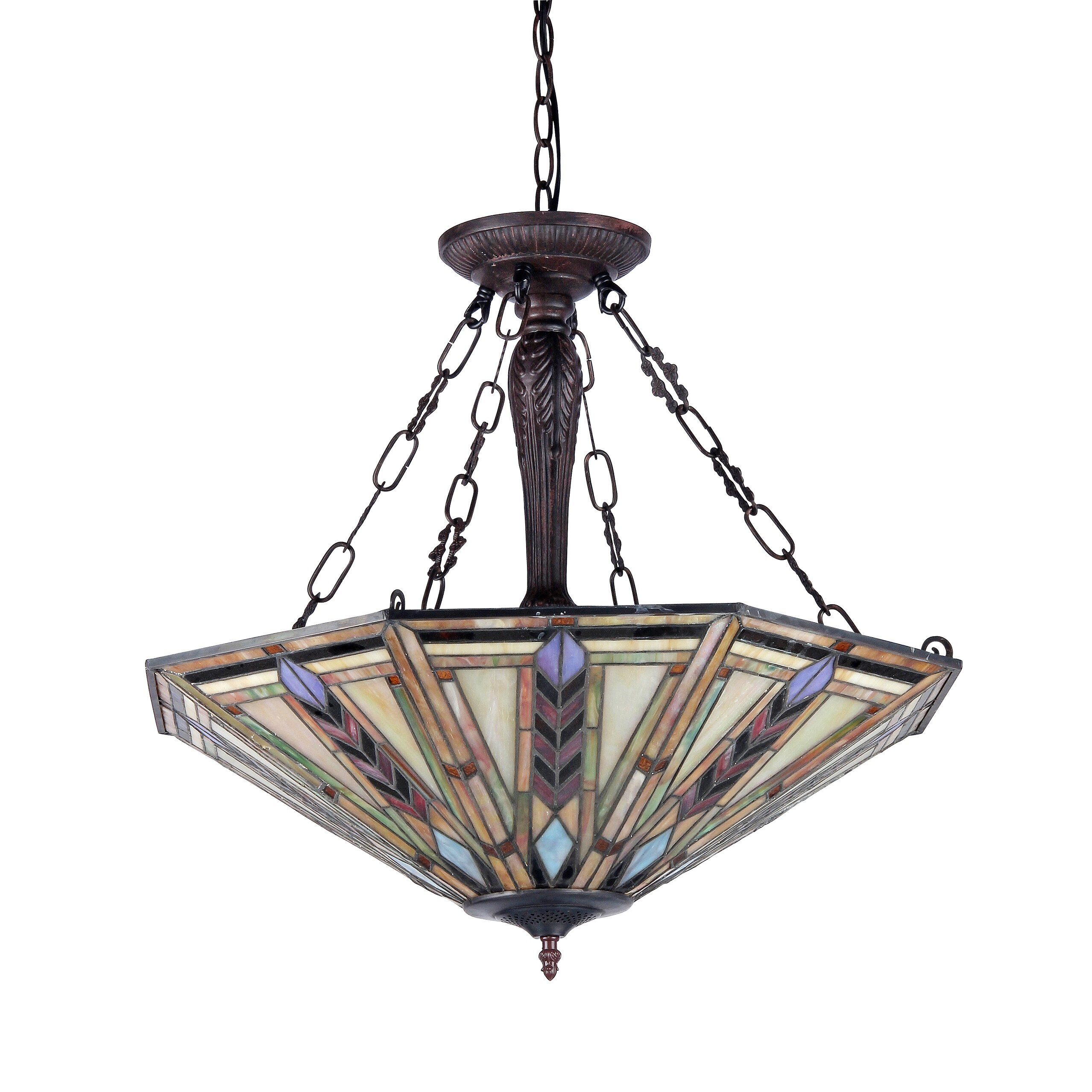 Chloe Lighting Jayden 3 Light Inverted Pendant & Reviews | Wayfair