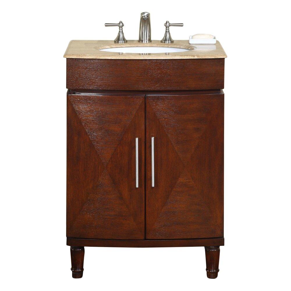 Silkroad exclusive cambridge 26 single bathroom vanity set reviews for Silkroad bathroom vanity reviews
