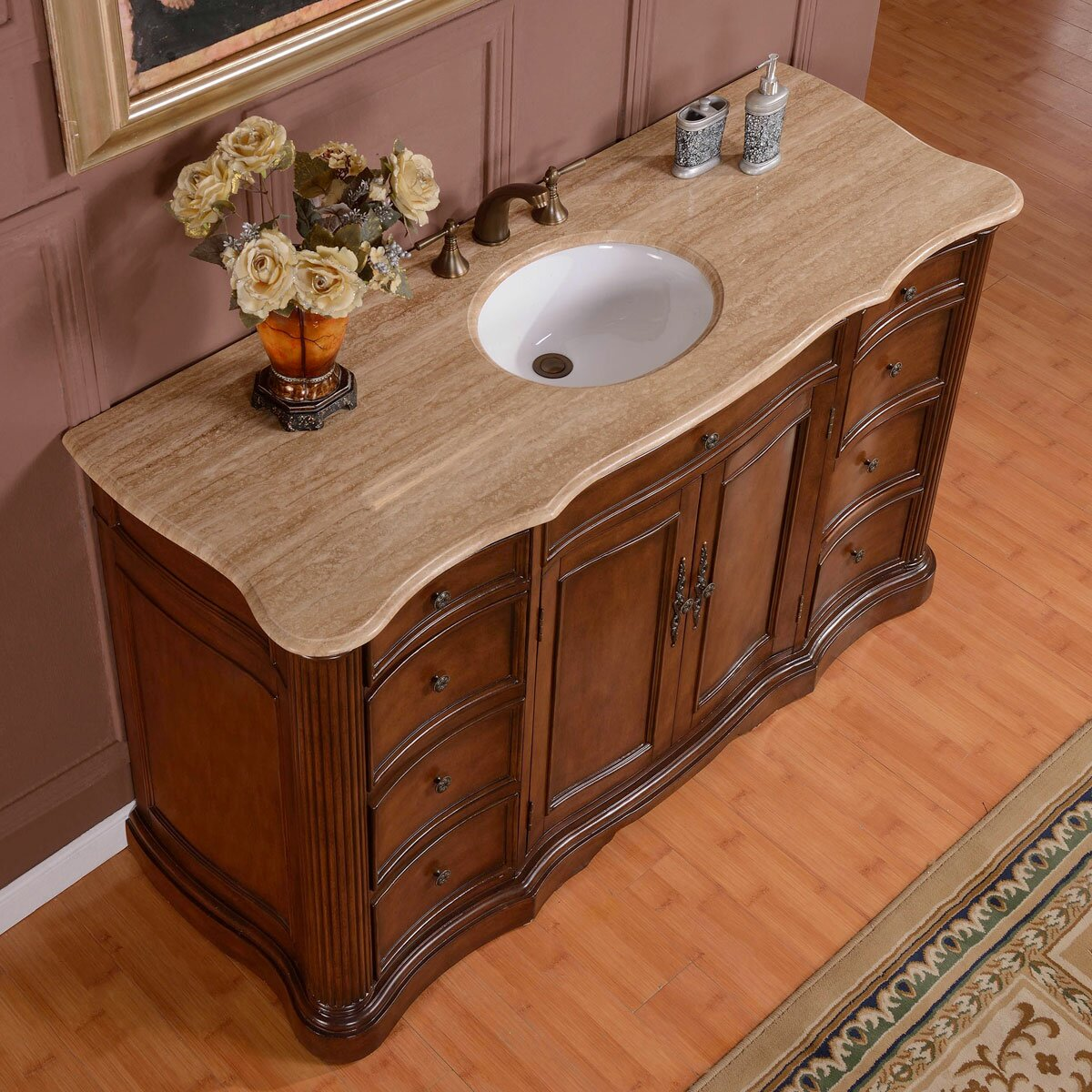 Ensemble Vanite Armoire : Silkroad exclusive quot sink cabinet bathroom vanity set