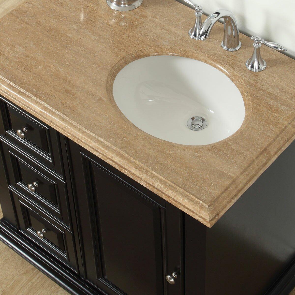 Silkroad Exclusive 36 Quot Single Bathroom Vanity Set With
