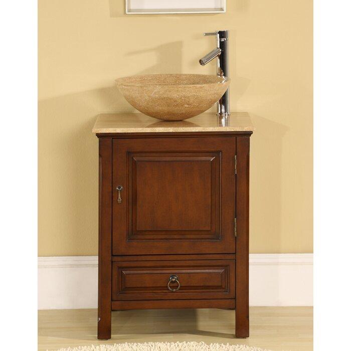 Silkroad Exclusive Mercer 22 Single Bathroom Vanity Set Reviews Wayfair