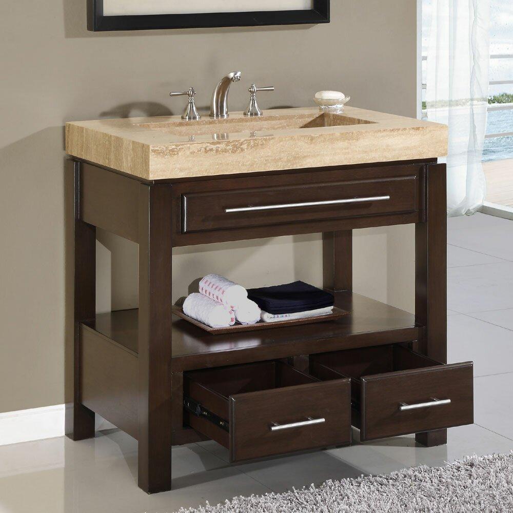 silkroad exclusive chester 36 quot single bathroom vanity set