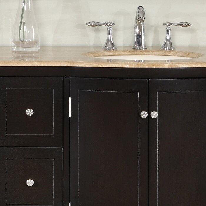 Silkroad Exclusive Merrimack 72 Double Bathroom Vanity Set Reviews Wayfair