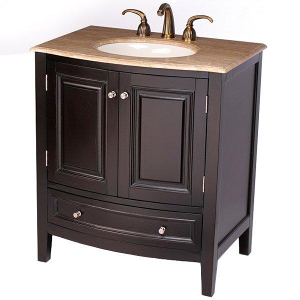 Silkroad Exclusive Merrimack 32 Single Bathroom Vanity Set Reviews Wayfair