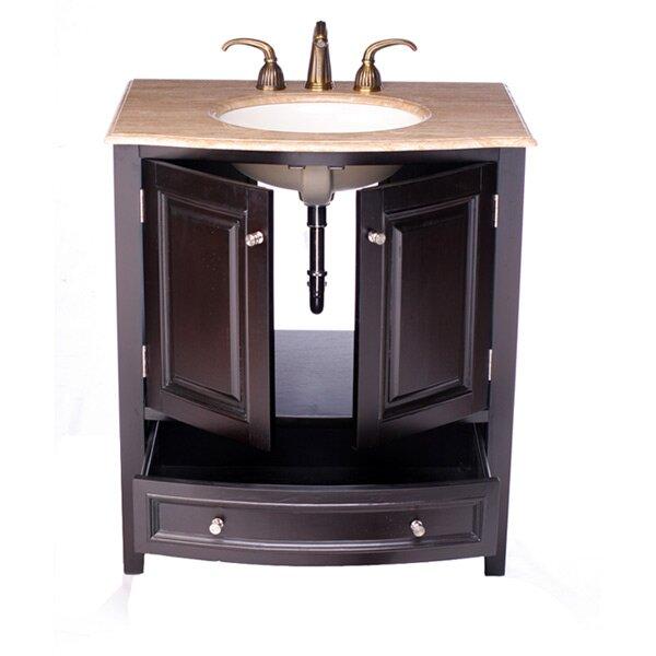Silkroad exclusive merrimack 32 single bathroom vanity set reviews wayfair for Silkroad bathroom vanity reviews