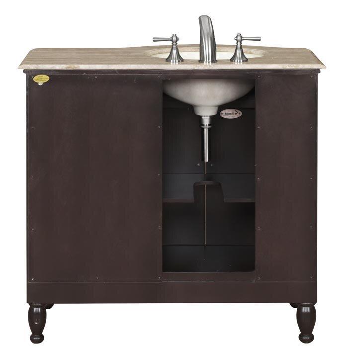 Silkroad exclusive hamilton 38 single bathroom vanity set reviews wayfair for Silkroad bathroom vanity reviews