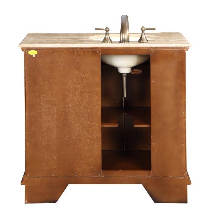 Silkroad exclusive charlotte 38 single bathroom vanity set reviews wayfair for Silkroad bathroom vanity reviews
