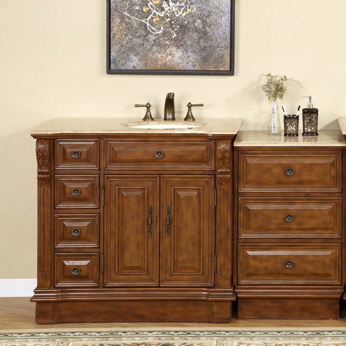 exclusive charlotte 58 single bathroom vanity set reviews w