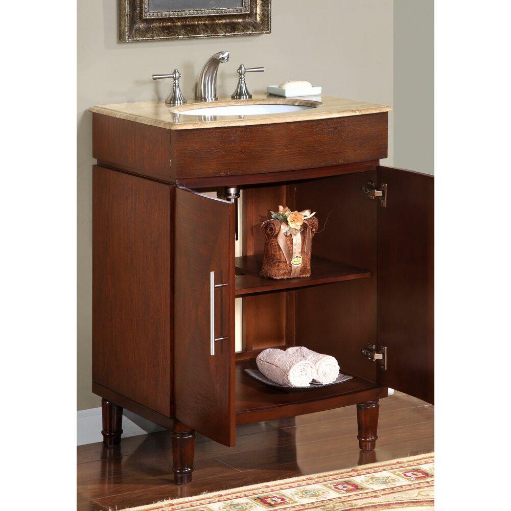 Silkroad Exclusive Cambridge 26 Single Bathroom Vanity Set Reviews