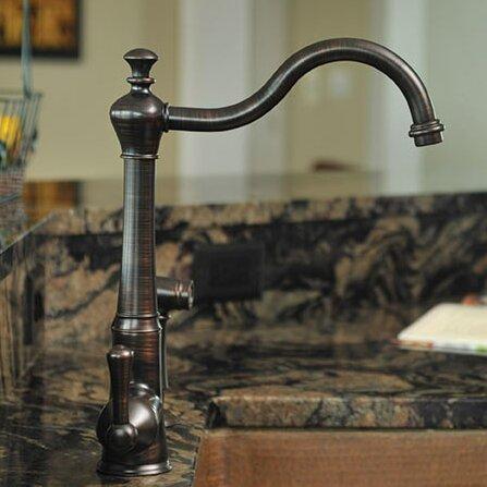 premier faucet single handle single hole kitchen faucet whitehaus evolution colonial single hole kitchen faucet