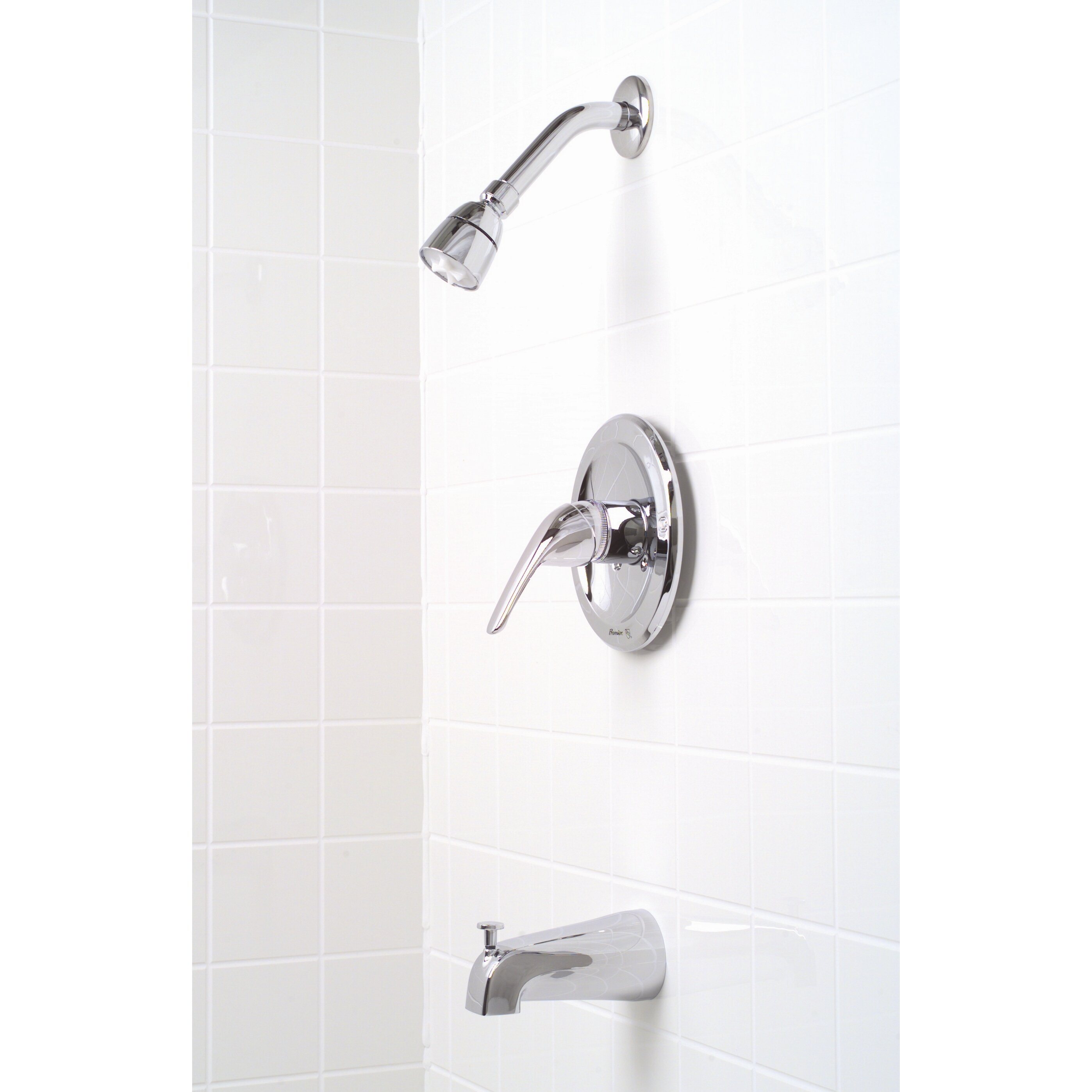 Premier Faucet Bayview Single Handle Diverter Tub And
