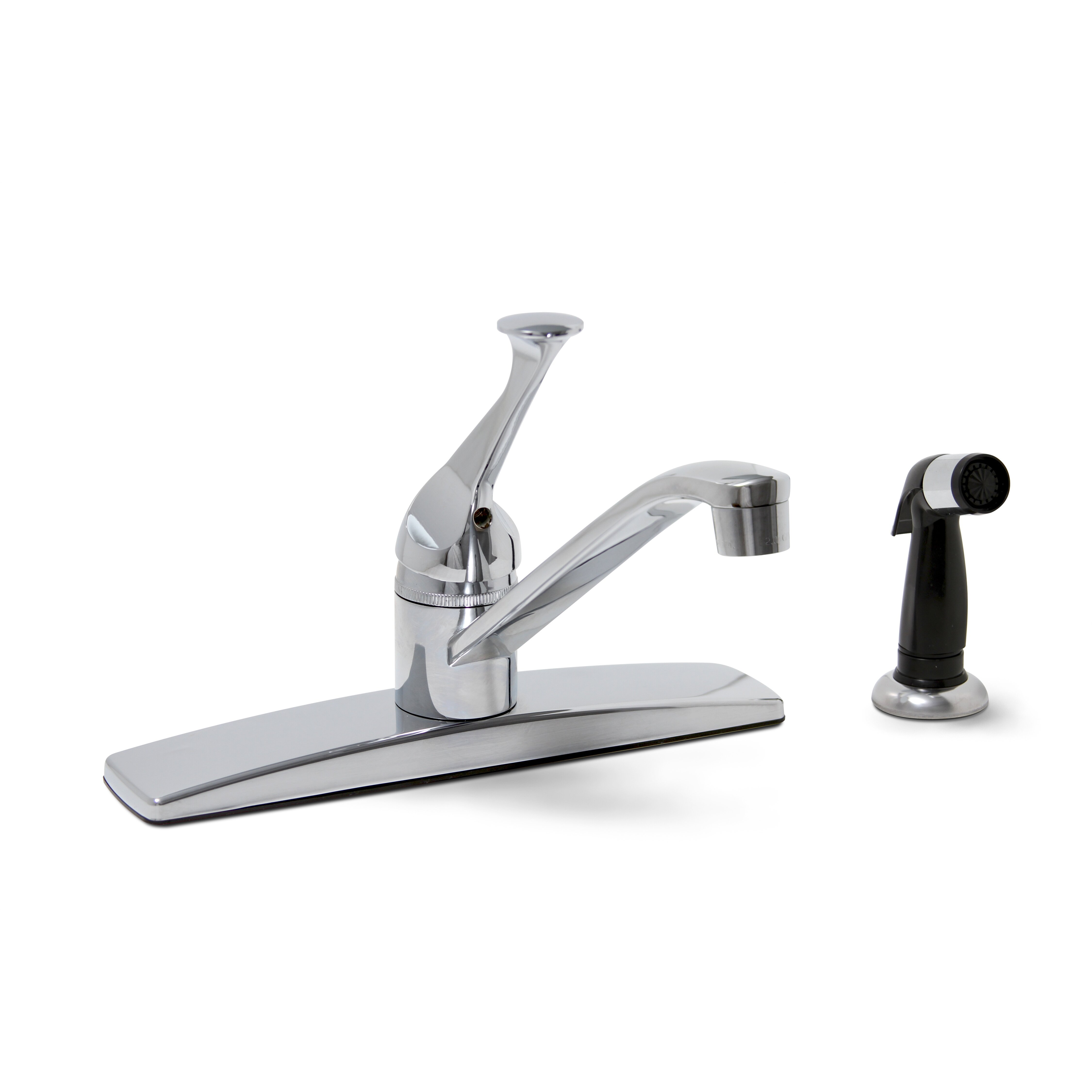 Premier faucet concord one handle centerset kitchen faucet for Handle kitchen set