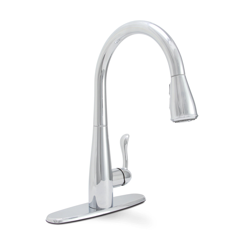 premier faucet sanibel single handle pull down kitchen