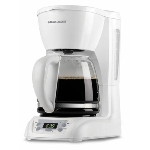 Coffee Maker Black And Decker 12 Cup : Black & Decker 12 Cup Coffee Maker & Reviews Wayfair