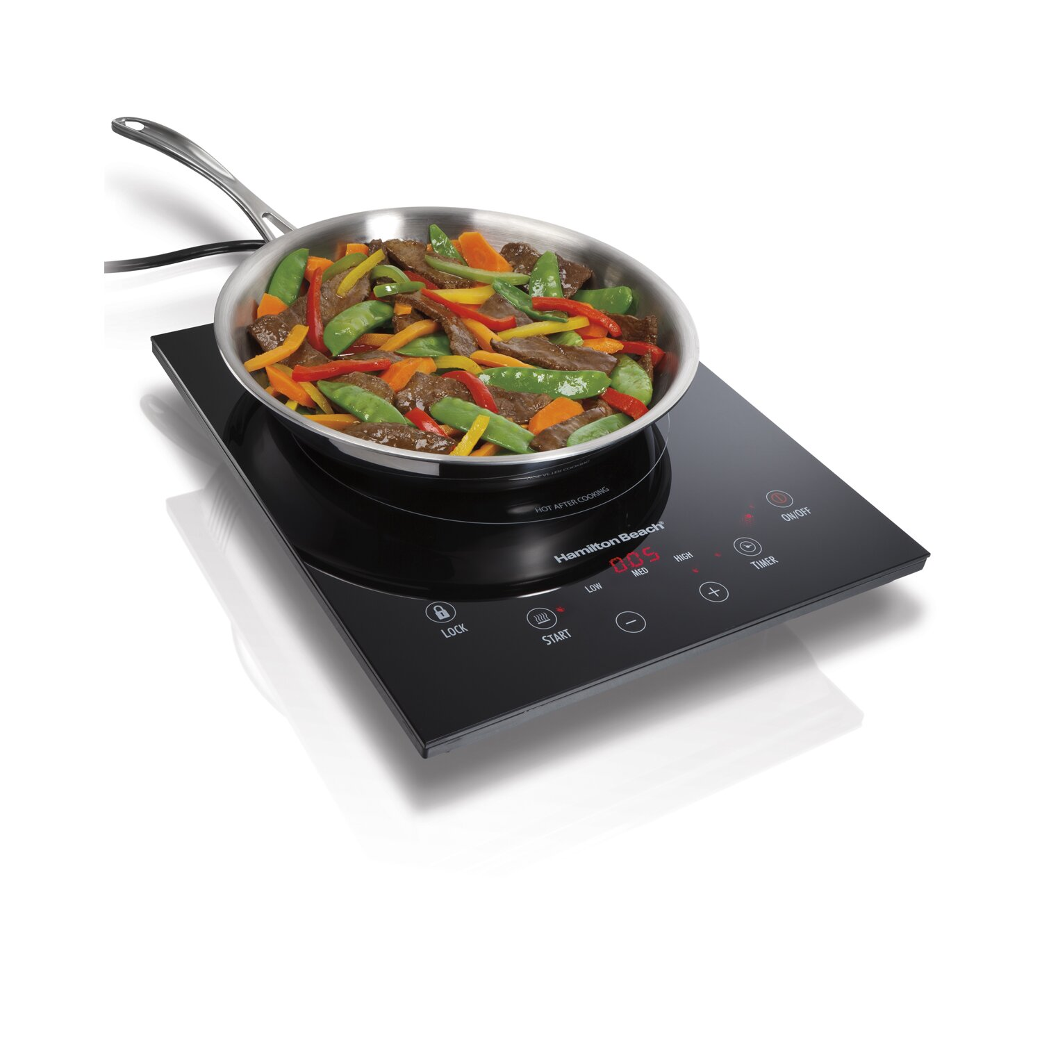 hamilton beach induction portable cooktop reviews wayfair. Black Bedroom Furniture Sets. Home Design Ideas