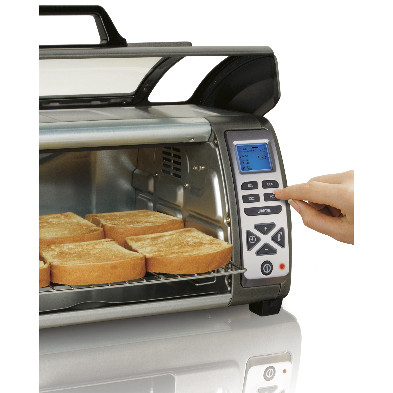Hamilton Beach Easy Reach Digital Toaster Oven & Reviews | Wayfair