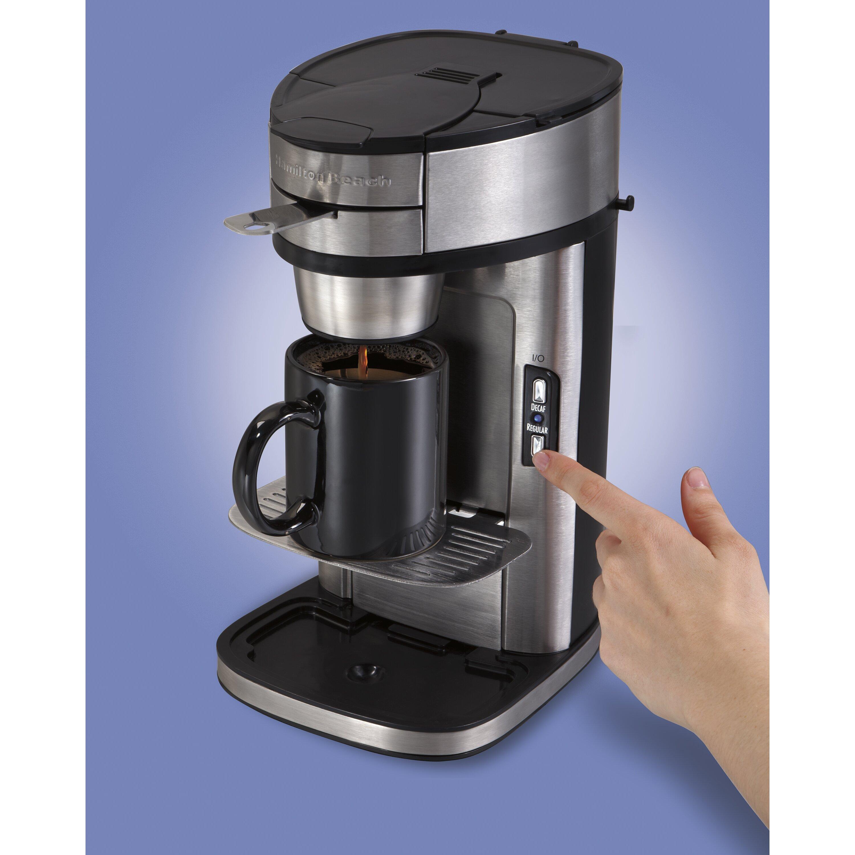 Coffee Maker Reviews Single Serve : Hamilton Beach The Scoop Single Serve Coffee Maker & Reviews Wayfair