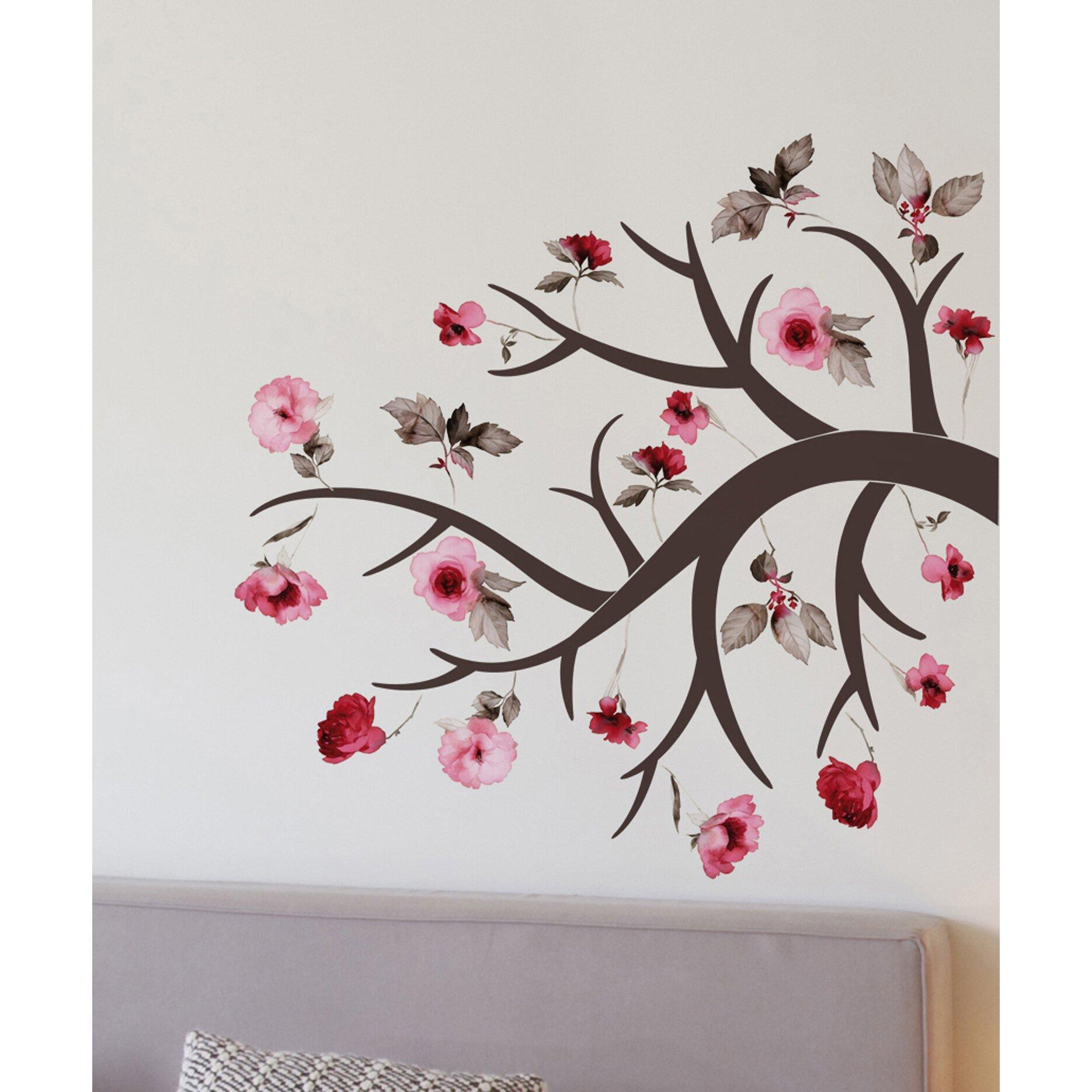 Wallpops Home Decor Line Blossom Branch Wall Decal Wayfair