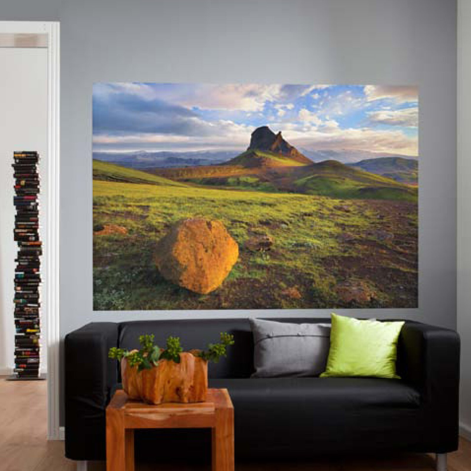 Brewster home fashions komar iceland wall mural reviews for Brewster wall mural