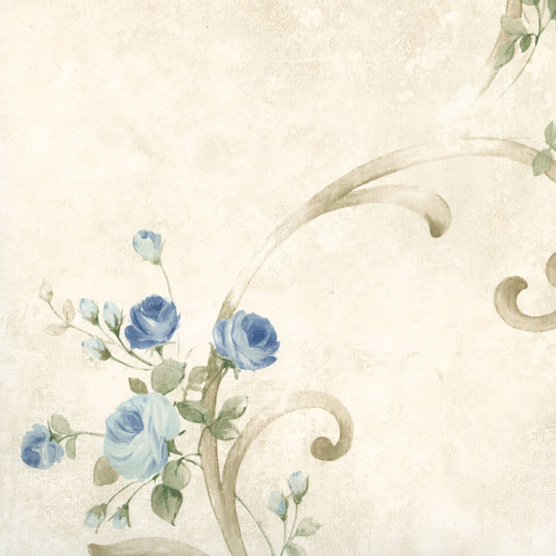 Brewster home fashions meadowlark escot tearose 33 39 x 20 5 for 3d embossed wallpaper