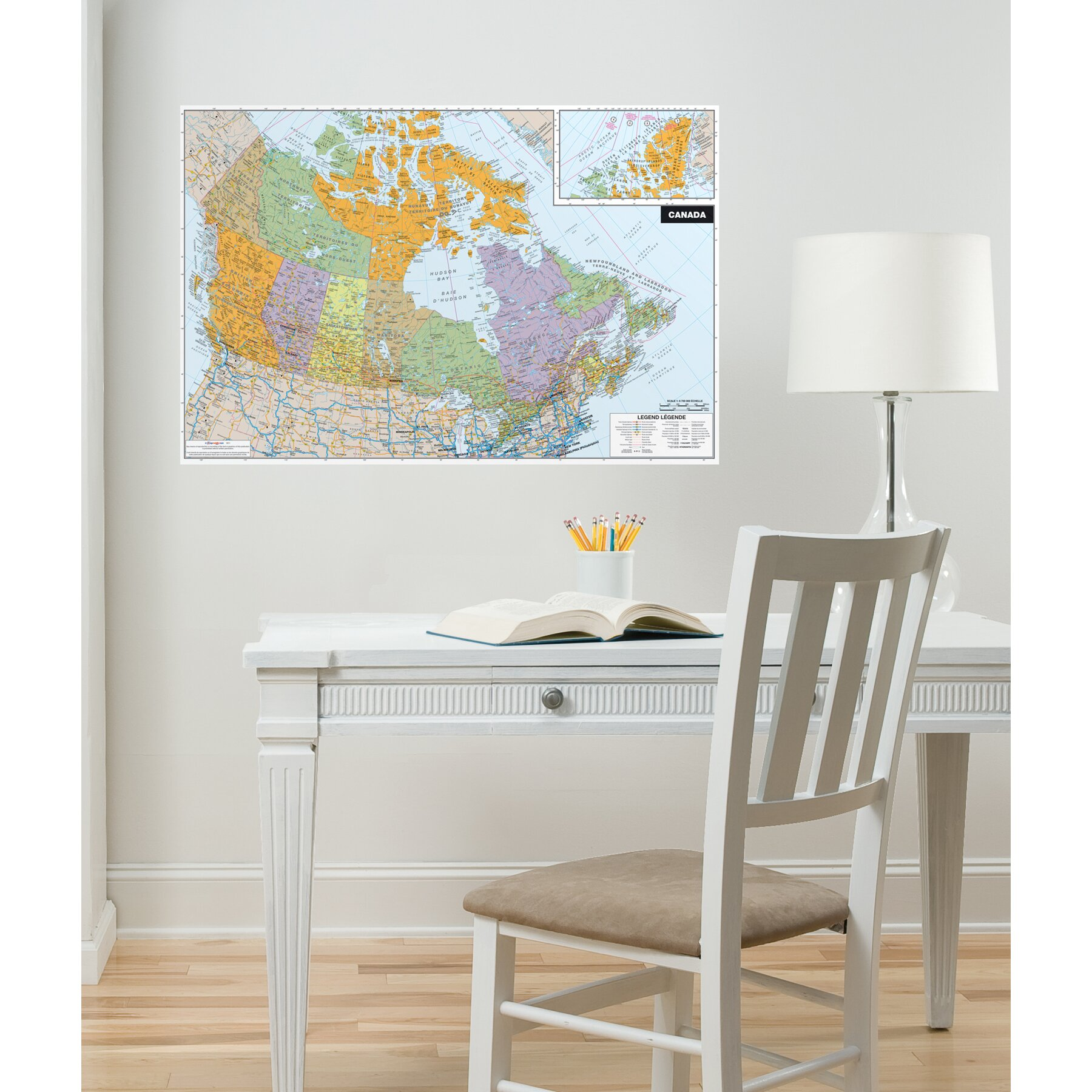Brewster home fashions wallpops dry erase canada wall for Brewster home fashions wall mural