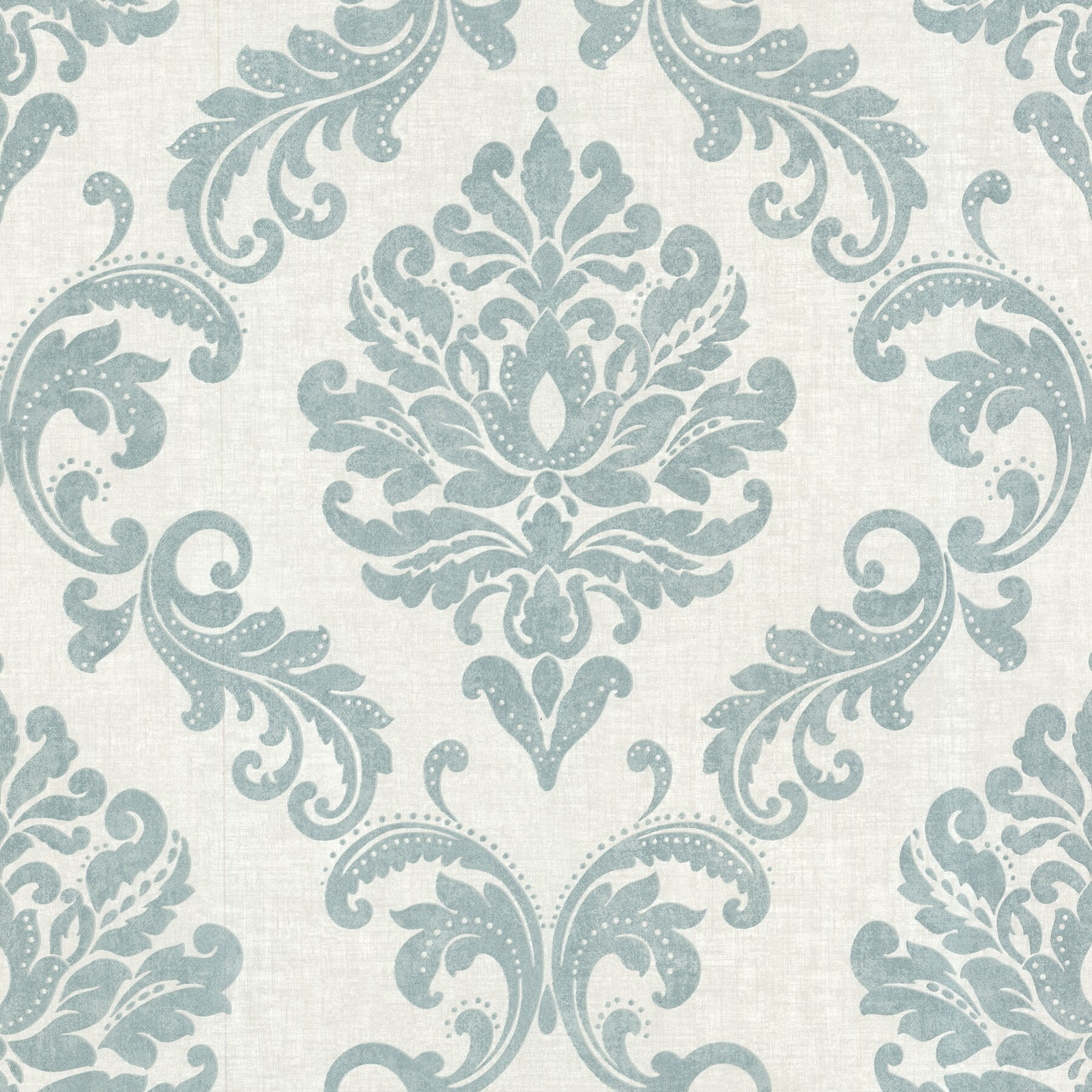 Brewster home fashions zinc sebastion 33 39 x 20 5 damask for 3d embossed wallpaper