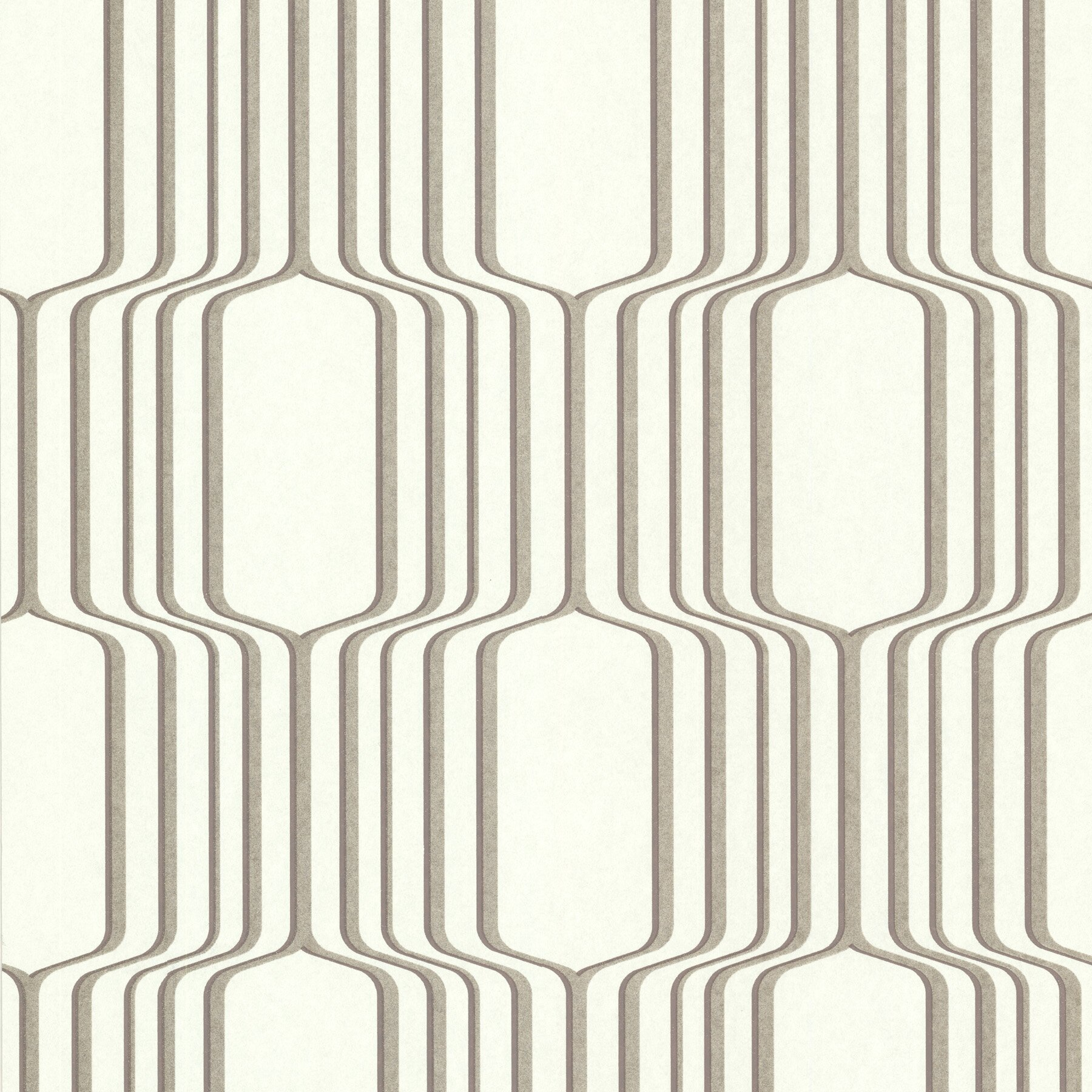 Brewster home fashions geo vina square ogee 33 39 x 20 5 for 3d embossed wallpaper