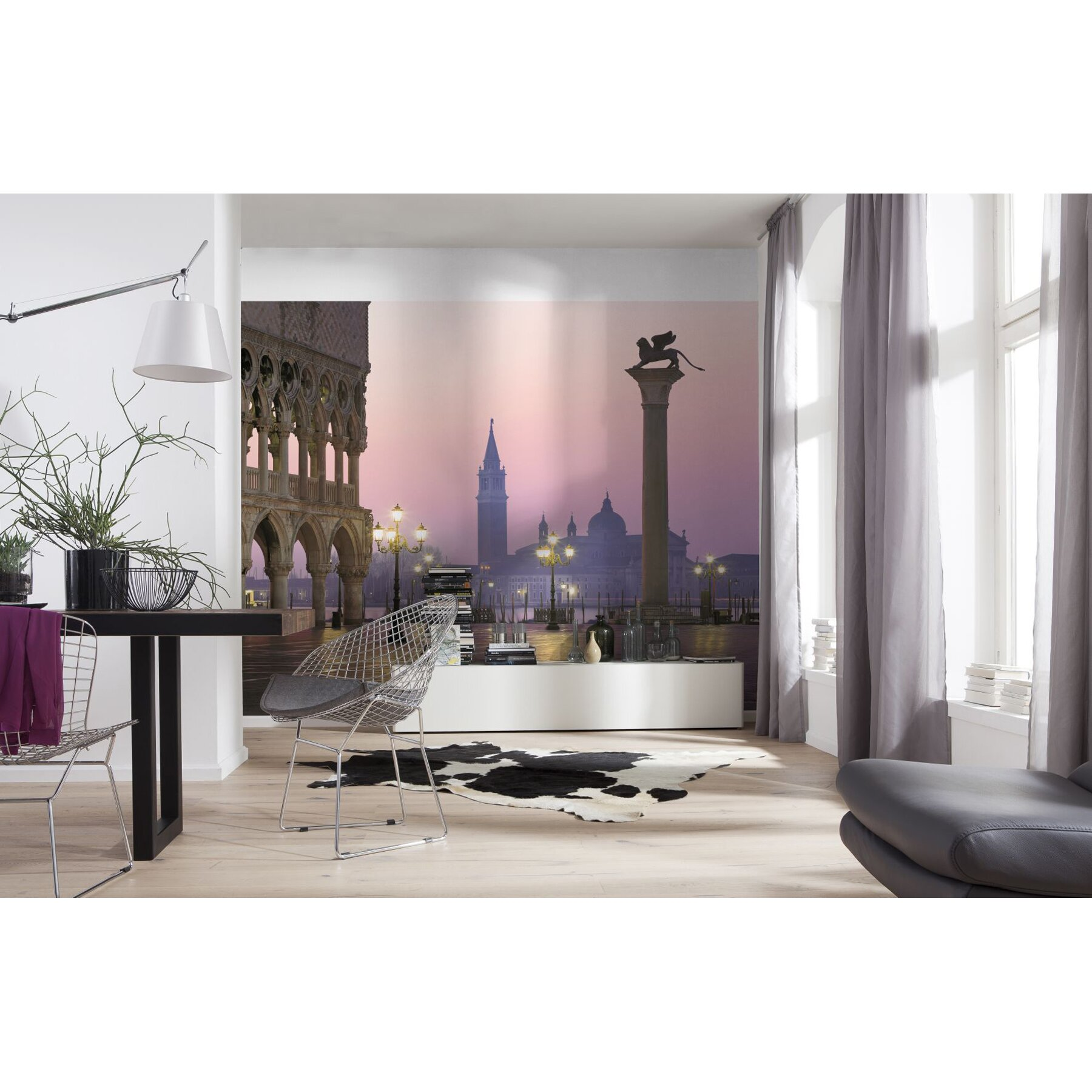 Brewster home fashions komar san marco wall mural for Brewster birch wall mural