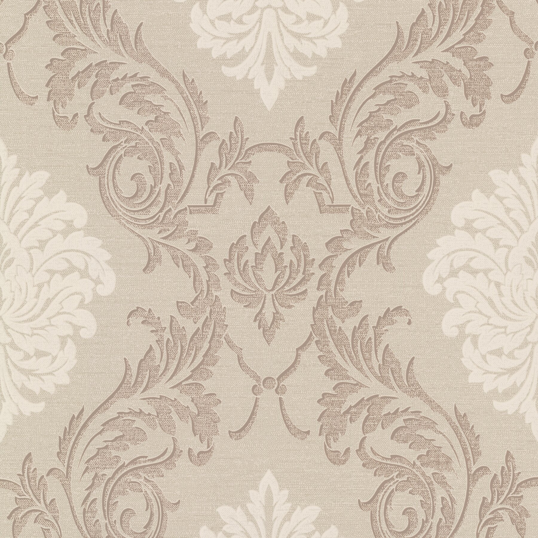 Brewster home fashions buckingham rennie 33 39 x 20 5 for 3d embossed wallpaper