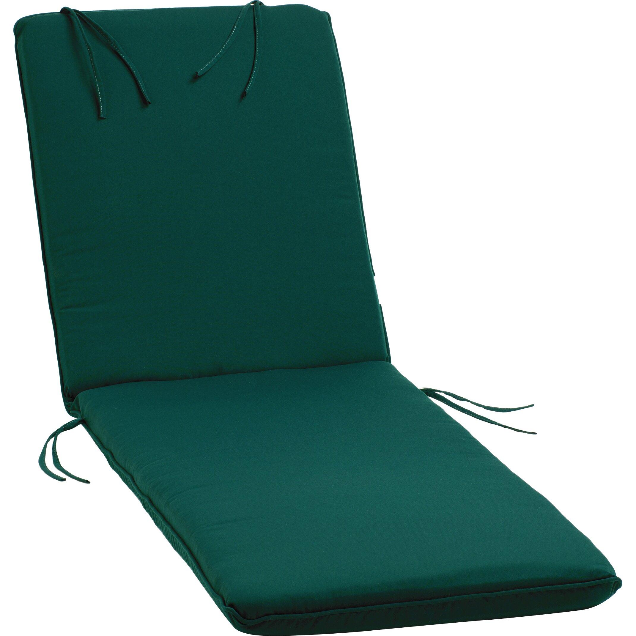 Oxford garden outdoor sunbrella chaise lounge cushion for Chaise cushions on sale