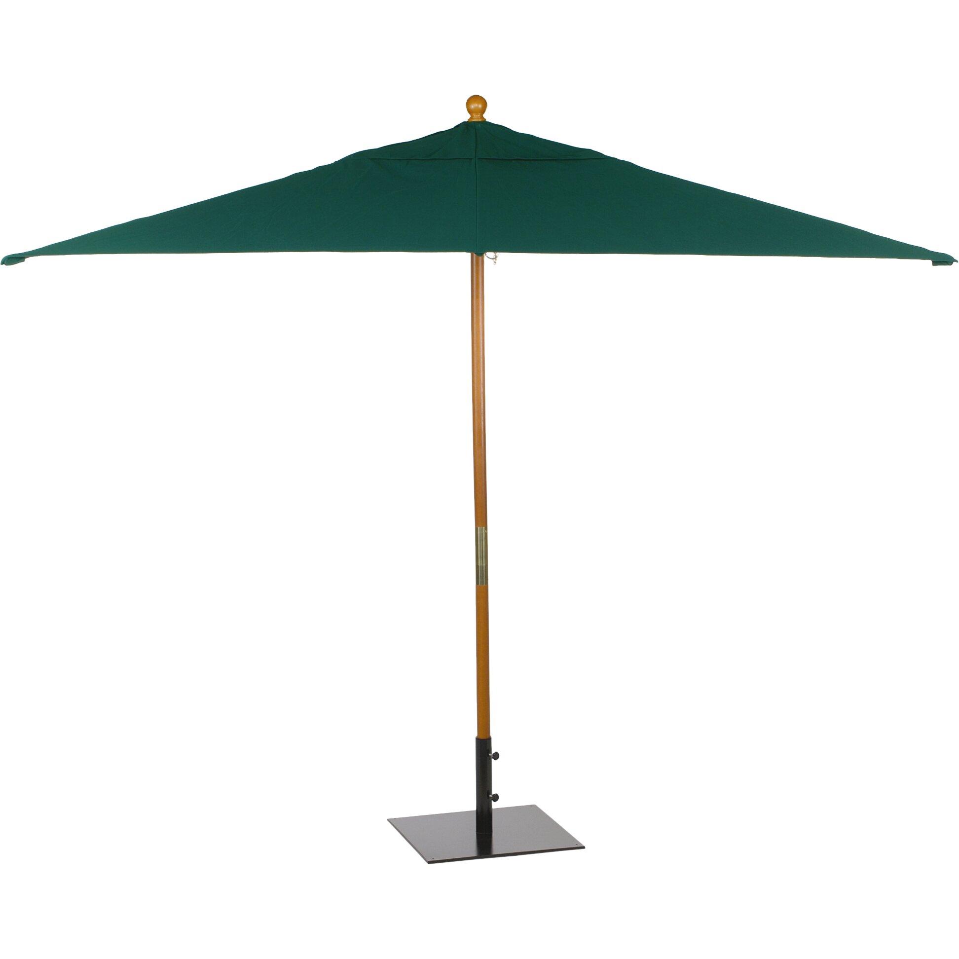 Rectangular Sunbrella Patio Umbrellas Sunbrella